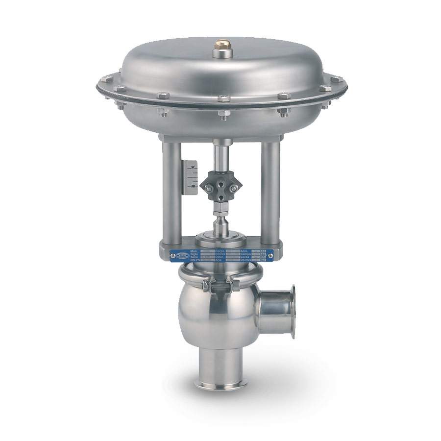 Clean Flow Aseptic and Sanitary Control Valves (2-Way) - Fully Stainless Steel