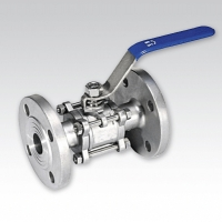 3-Pieces Body Ball Valve (Flanged Ends)