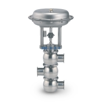 Clean Flow Aseptic and Sanitary Control Valves (3-Way Diverting Type) - Fully Stainless Steel