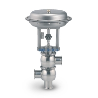 Clean Flow Aseptic & Sanitary Control Valves (3-Way Mixing Type) - Fully Stainless Steel
